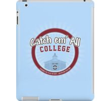 Catch 'em All College iPad Case/Skin
