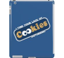 Lack of Cookies iPad Case/Skin