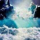 Secret place in blue by Annabellerockz