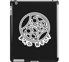'Bad Wolf' in Gallifreyan  iPad Case/Skin