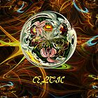 Zoomorphic Celtic Art No5 iPad/iPhone/iPod/Samsung cases by Dennis Melling