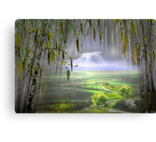 Spring Flow Canvas Print