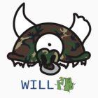Camo Record Head by WillFM