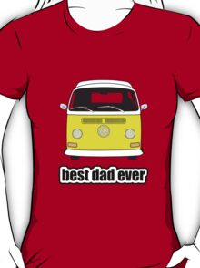 Best Dad Ever Yellow Early Bay T-Shirt