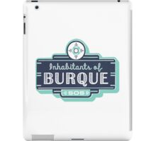 Inhabitants of Burque T-Shirt iPad Case/Skin