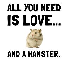 Love And A Hamster by AmazingMart