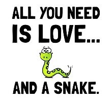 Love And A Snake by AmazingMart