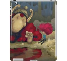 The Girl and the Troll iPad Case/Skin