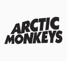 Arctic Monkeys Logo - Black by tynamite