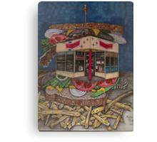 The All Star Sandwich Bar Canvas Print