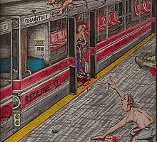 Zombies on the Red Line by Richie Montgomery