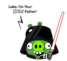 Luke, i'm your angry father by sakha