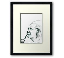 Ein Stein, Albert Framed Print