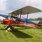 De Havilland DH83 Fox Moth G-ADHA by Colin Smedley