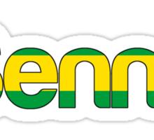Ayrton Senna tribute Sticker
