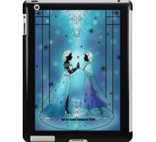 Silhouette Anna and Elsa iPad Case/Skin