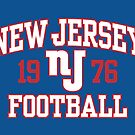 New Jersey Football by popnerd