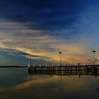 inverloch jetty, anderson inlet. bunurong coast, victoria by tim buckley | bodhiimages