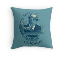 Al Capone OG Throw Pillow