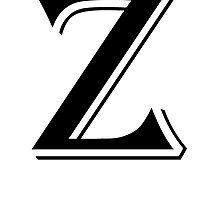 Fancy Letter Z by kwg2200