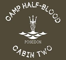 Percy Jackson - Camp Half-Blood - Cabin Two - Poseidon by gingerbun