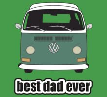 Best Dad Ever Green Early Bay Kids Clothes
