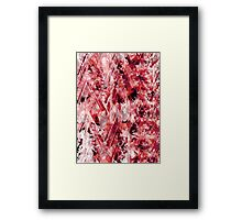 Contrasting Abstract Print Framed Print