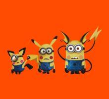 Pichu, Pika and Raichu minion Kids Clothes