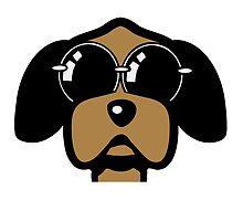 dog funny love Sunglasses by Motiv-Lady
