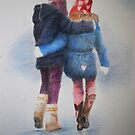 WINTER WALK by Lynn Hughes
