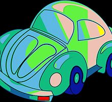 Flower Power Beetle by Florian Rodarte