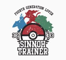 4th Generation Trainer (Light Tee) by ZandryX