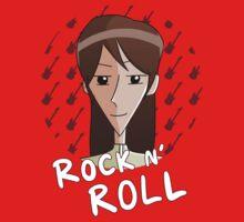 Rock n' Roll-Senpai, the Rock n' Roll by makebabies