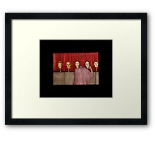 off with her head Framed Print