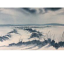 Winter Light over Lastingham Rigg Photographic Print
