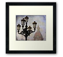 Streetlights Framed Print