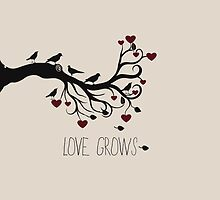 Love Grows Birds by pencreations