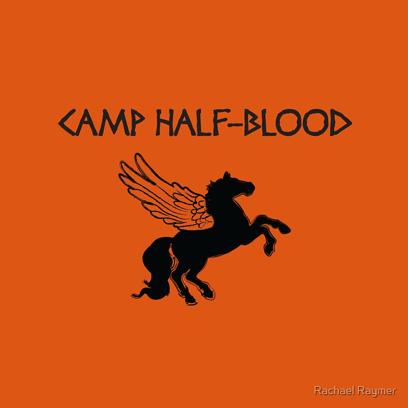 Camp half blood camp shirt quot throw pillows by rachael thomas