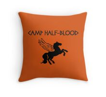 Camp Half-Blood Camp Shirt Throw Pillow