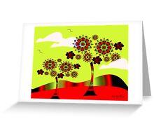 Ah Spring Greeting Card