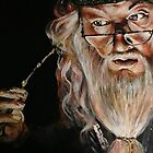 Dumbledore :: Harry Potter Inspired Fan Art by Kristin Frenzel