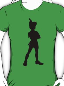 Peter Pan Silhouette T-Shirt