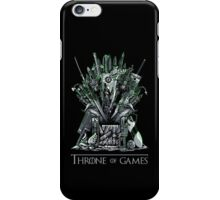 Throne of Games - You Win Or You Die - V2 iPhone Case/Skin