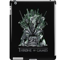 Throne of Games - You Win Or You Die - V2 iPad Case/Skin