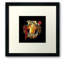 Estus Majula Imported Ale (Dark Souls 2) Framed Print