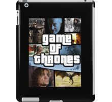 grand game of thrones  iPad Case/Skin