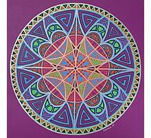 Alignment Mandala Photographic Print