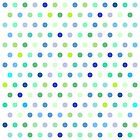 Polka Dots - Blue & Green by House of  Jennifer