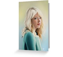 Gwen Stacy Greeting Card