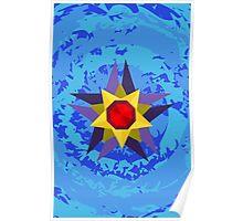 Starmie Vector Artwork Poster